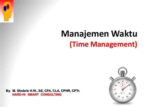 Brainwave Manajemen Waktu Time Management time management