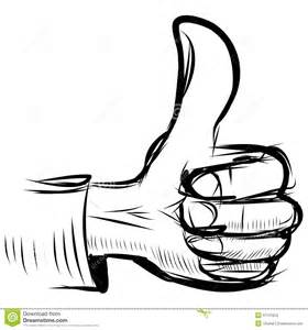 thumb up like hand symbol stock images image 37131624