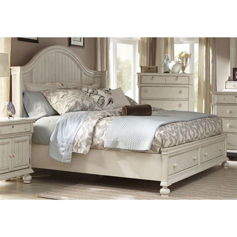 beach style beds bed frame with storage platform queen king size coastal