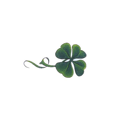four leaf clover tattoo design leaf clover tattoos design 500x500 pixel tattoos
