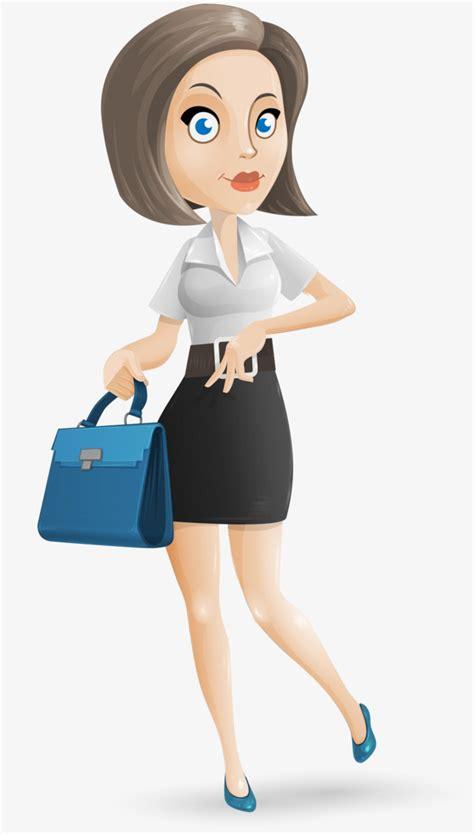 imagenes animadas bañandose bolso de mujer con el pelo corto de dibujos animados de