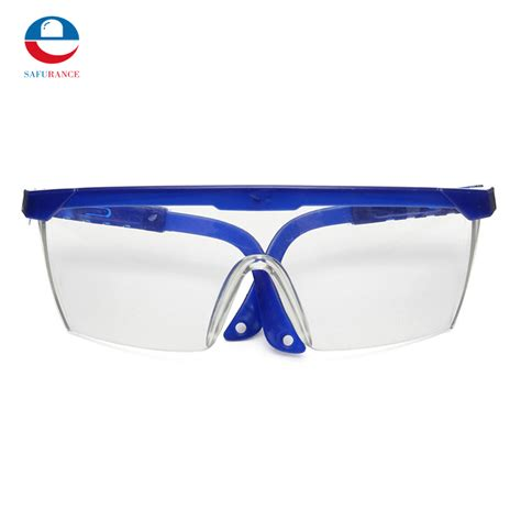 2 Colors Eye Protection Protective Safety Goggles Glasses Work protective glasses blue and white color safety goggles eye protection workplace safety supplies