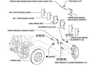 Check Parking Brake System Ls460 Brake Pads Rattle When Hit On A Brake Slowly Will New