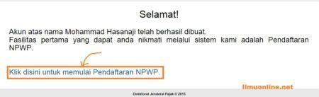 persyaratan membuat npwp secara online cara mendaftar npwp pribadi secara online dan manual