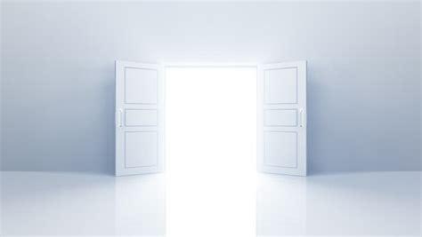 How To Get A Through A Door by Door Opening Stock Footage 2180260