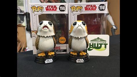 Wars The Last Jedi Funko Pop Flocked Porg 198 Topic Exclu 1 wars the last jedi funko pop porg limited