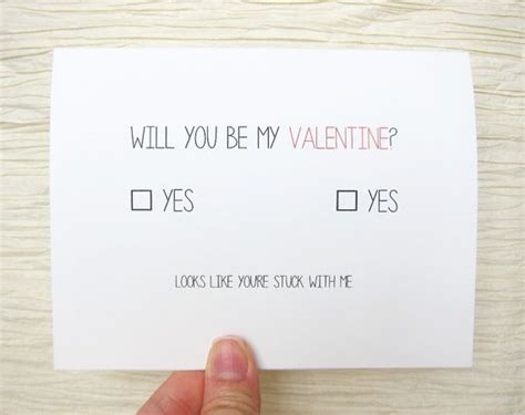 will he get me something for valentines day valentines day card quot will you be my