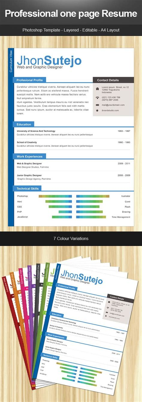 17 best ideas about resume form on creative cv