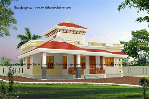 Low Budget House Plans In Kerala Low Budget Beautiful Kerala House Designs At 1195 Sq Ft