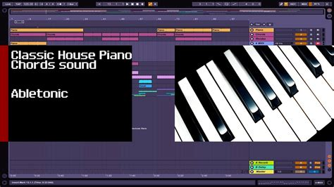 Tutorial Piano To Build A Home | how to make classic m1 house piano chord tutorial youtube