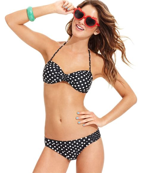 dotted swimsuit california waves swimsuit polka dot top polka