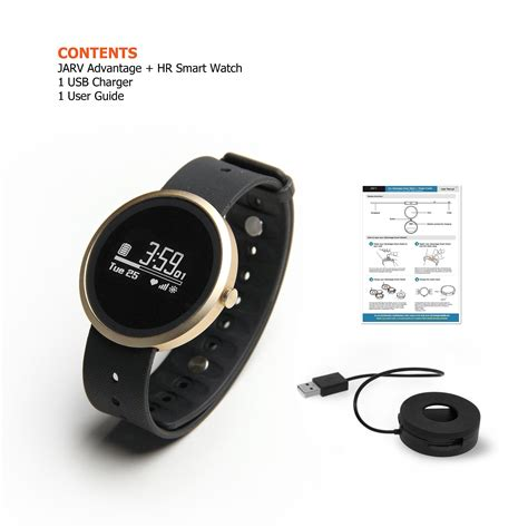 Smart Water Resistant jarv advantage hr ipx7 water resistant smart fitness tracker and sleep monitor with