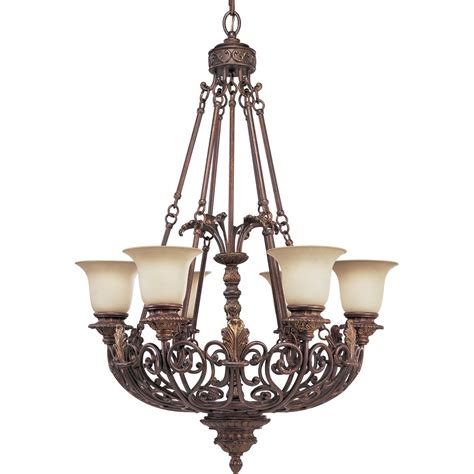 Thomasville Chandeliers Thomasville Lighting P4535 75 Messina Traditional 6 Light Chandelier Pg P4535 75