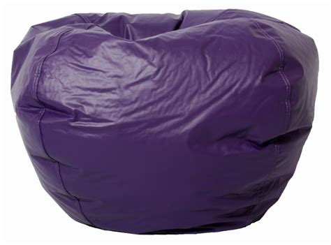 comfort research bean bag fill classic bean bag in vinyl fabric by comfort research 0630
