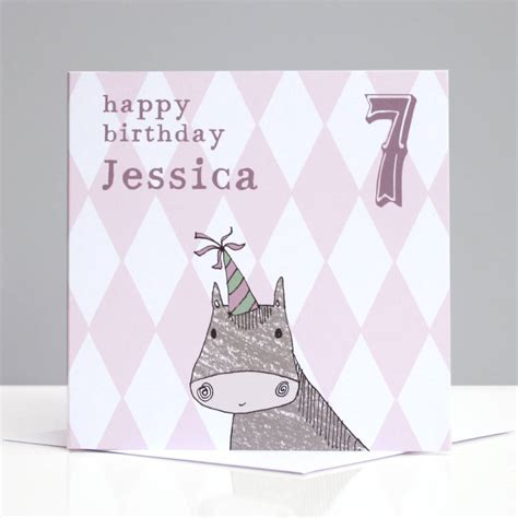 My Pony Personalised Birthday Card