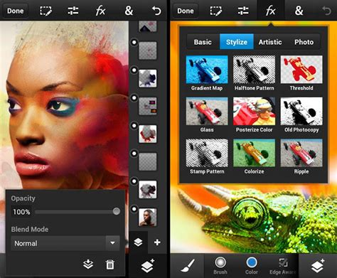 photoshop apps for android adobe releases photoshop touch beefy photo editing app for android and ios smartphones