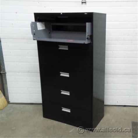 Lateral Locking File Cabinet Staples Black 5 Drawer Lateral File Cabinet Locking Allsold Ca Buy Sell Used Office
