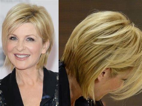 german womens short hairstyles german tv presenter has a great blonde cut for older women