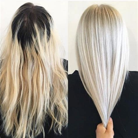 17 best ideas about blonde hair roots on pinterest platinum blonde ombre hair tumblr find your perfect hair