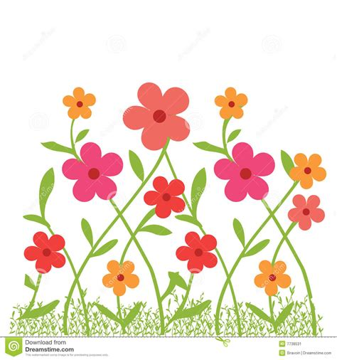 Flower Garden Clipart Garden Flower Bed Clipart Clipart Suggest