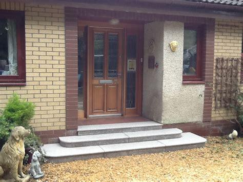 Front Door Step Non Slip Steps Glasgow Lanarkshire Edinburgh Scotland Paisley Cumbernauld East Kilbride