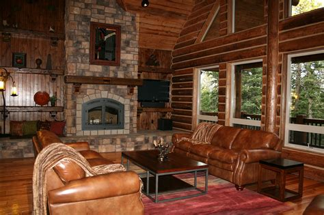 Log Home Interior Pictures California Log Home Kits And Pre Built Log Homes Custom