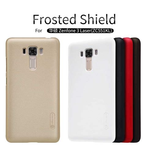 asus zenfone 3 laser zc551kl cover nillkin frosted shield matte back cover