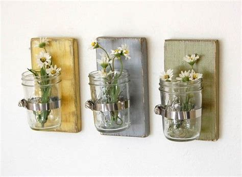 jar wall vases for the home