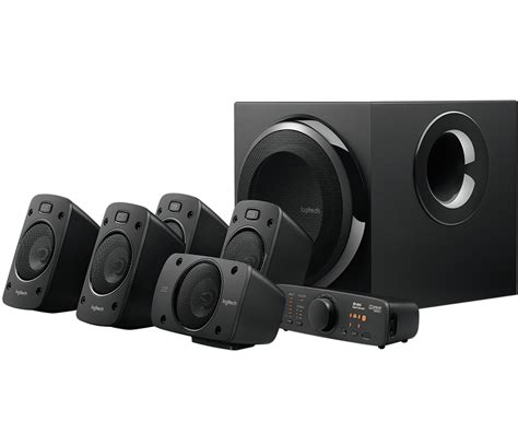 Speaker Logitech Z906 5 1 Speakers logitech z906 5 1 surround sound speakers system thx