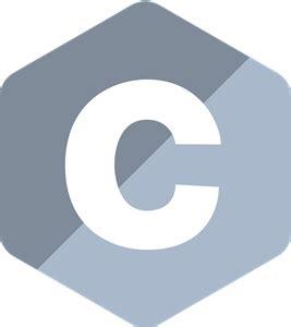 C Programming Language Logo Vector (.SVG) Free Download C- Programming Logo