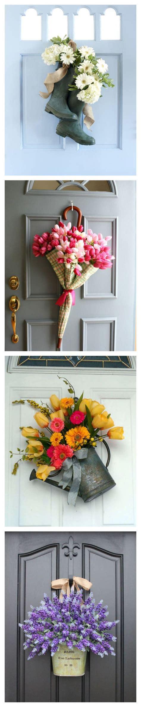 12 beautiful decorations to hang on your door that aren t wreaths kransar id 233 er och blommor