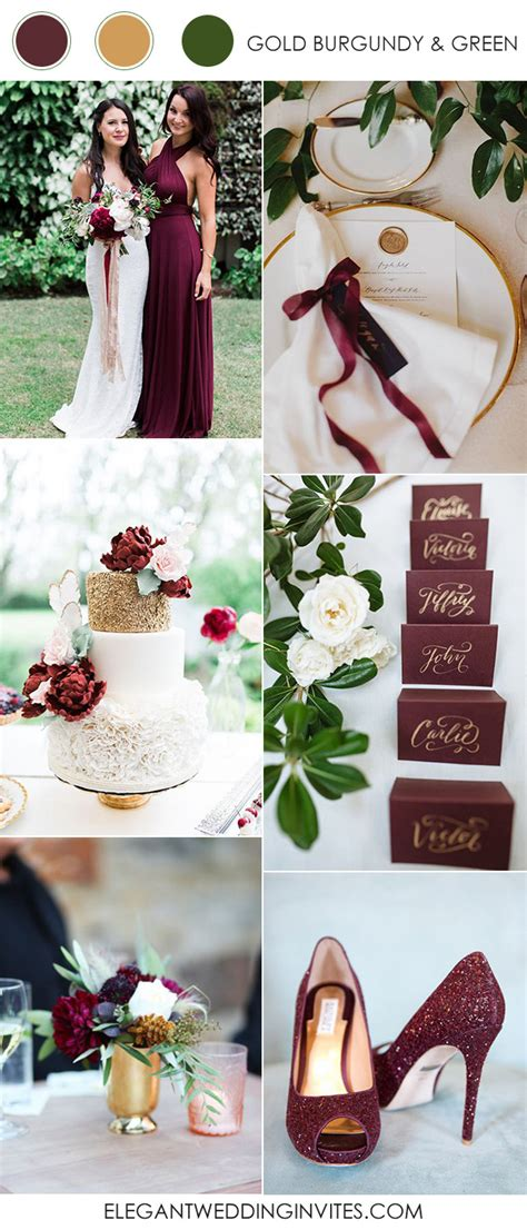 10 wedding color combination ideas for 2017 trends