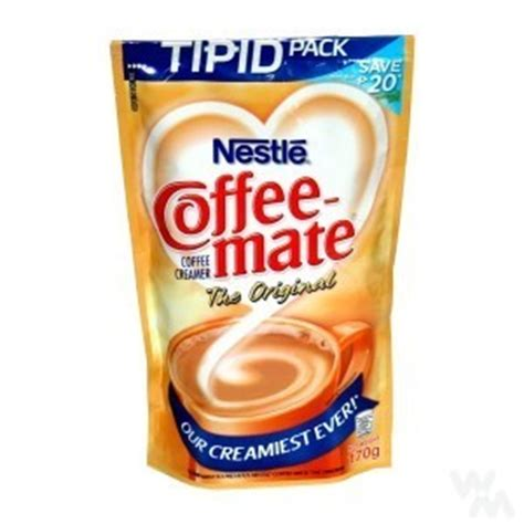 Coffee Mate Sachet nestle coffee mate original tipid pack 170 g