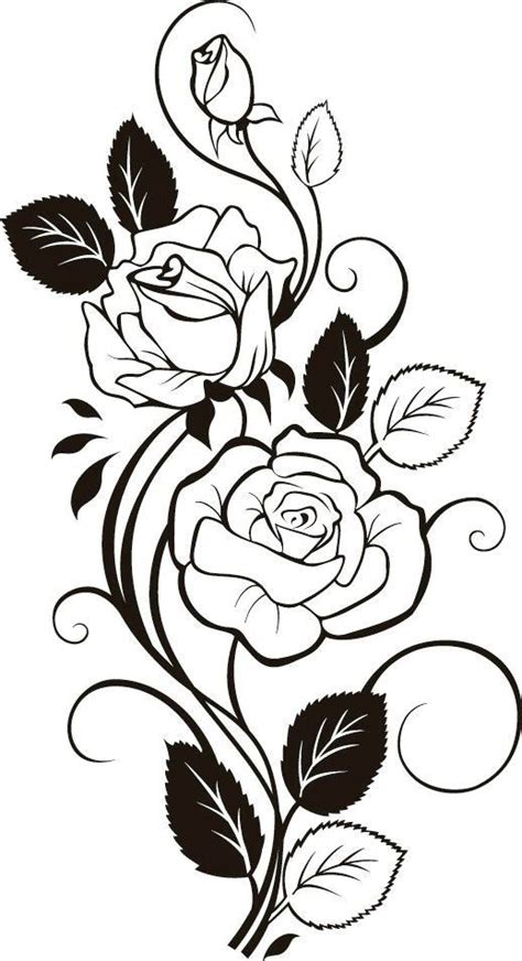 border rose tattoo border frames and borders stenciling