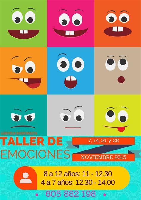 taller de emociones taller de emociones divertifiesta chiquiocio