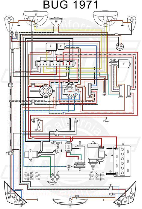 vw tech article  wiring diagram