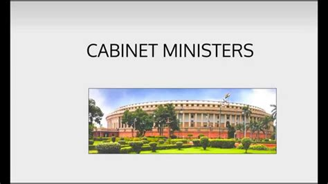 Cabinet Ministers by Ministers Of India Cabinet Of India Ministers Of State