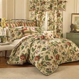 Waverly Bed Sets Waverly Laurel Springs 4 Comforter Set Walmart