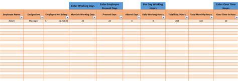 Printable Employee Payroll Template Excel 2017 Template124 Excel Payroll Template 2017