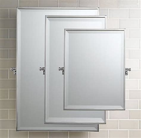 pivot bathroom mirror bistro rectangular pivot mirror traditional bathroom