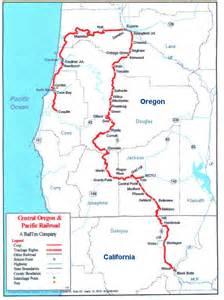 oregon railroad map central oregon pacific