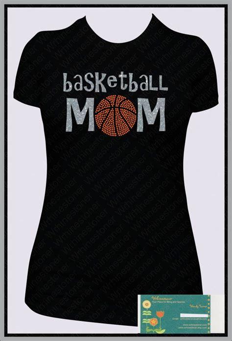 vinyl shirts basketball rhinestone and glitter vinyl shirt