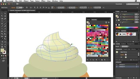 ai pattern models creating gradient meshes with illustrator