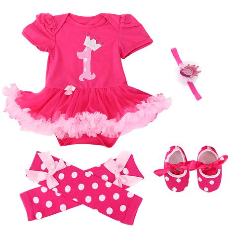 toddler clothes and shoes 4pcs baby romper jumpsuit headband shoes ruffle