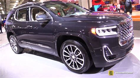 Gmc Acadia 2020 Interior by 2020 Gmc Acadia Denali Exterior And Interior Walkaround