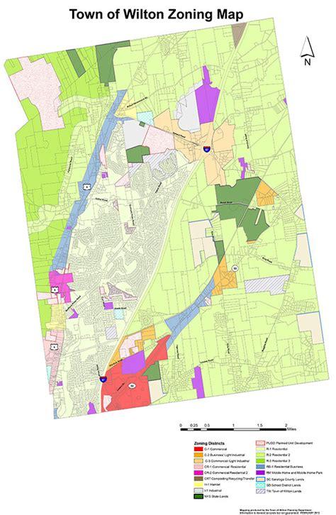 zoning map zoning map town of wilton