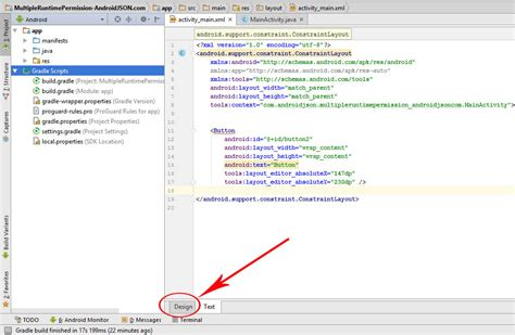 android studio layout editor tutorial fix this view is not constrained android studio error