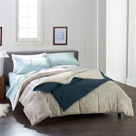 Cuddle Comforter by Cuddle Dud Sheets Comforter And Sherpa Blanket As Low As