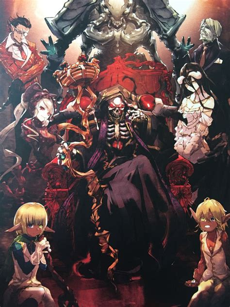 Anime 1 Overlord by Overlord Anime мир аниме красивые картинки и арты