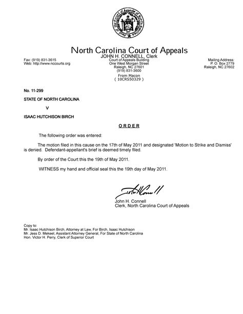 This Is An Order From The Court To Send Up The Records On A For Review What Is 11 299 Ncrenegade